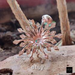3.14TCW Round Colorless VVS1 Moissanite Pendant, Diamond Pendant, Rose Gold, Moissanite Jewelry, Wedding Necklace, Custom Vintage Pendant