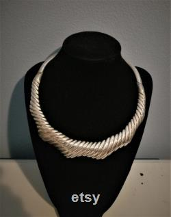 Bayanihan Philippines Sterling Collar Choker Necklace