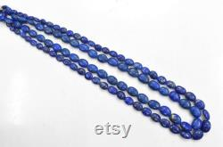 Beautiful Lapis Lazuli Afghanistan Mins Necklace 21.00 Inches Fancy Gemstone Necklace Gift For Her, Mother's Day Gift,Gift For a Friend,