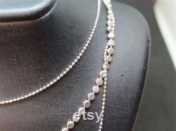 Handmade Silver Necklace Gold Over Fashion Necklase Mothers Gift Handcrafted Necklase Dainty Necklase Gold Vermeil Necklase