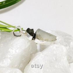 Libyan Desert Glass Pendant, Authentic Moldavite Pendant, Czech Moldavite, Authentic Libyan Desert Pendant, 925 Silver Pendant, Sale