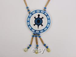 Ojibwa Turtle Rosette Necklace Gallery Item (81-701-G3507) D5