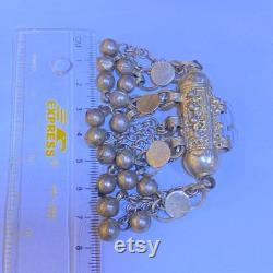 Old Yemenite silver tube . Yemen amulet . Yéménite pendant. Handmade Yemen hirz