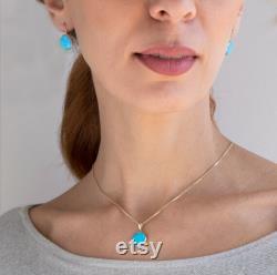 Opal Necklace, Opal Jewelry, Birthstone Necklace, Statement Necklace, Dainty Necklace, Gold Necklace, Gemstone Necklace, Necklaces For Women
