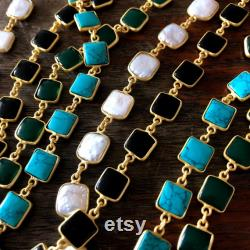 PRE ORDER Necklace gold and Pearl