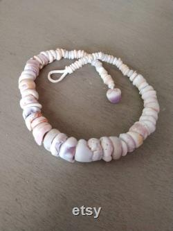 Puka Shell Necklace, Puka Shell Lei, Kauai Kauai Shell Lei, Seashell Necklace, Seashell Lei, Hawaiian Puka Necklace