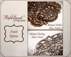 Sapphire Renaissance Necklace, Blue Wedding, Medieval Jewelry, SCA, Tudor Costume, Festoon Necklace, Victorian Bridal Necklace, N6