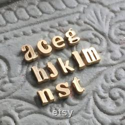 Solid 14K Gold Personalized Initial Necklace