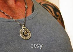 gift idea mother's day, zodiac silver chain necklace